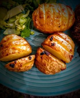 Hasselback Potatoes 4