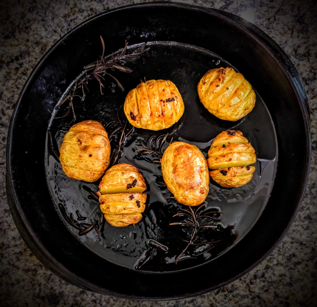 Hasselback Potatoes 5