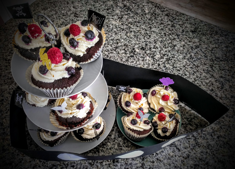 Miraculous Pirate Ship Birthday Cake Googies Kitchen Life Personalised Birthday Cards Bromeletsinfo