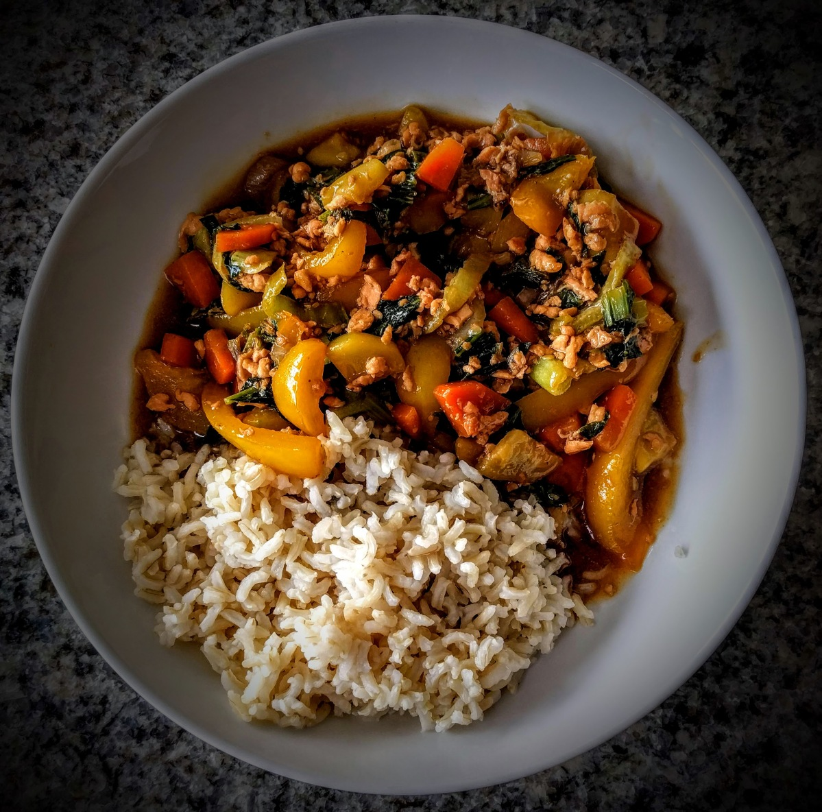 Teriyaki Salmon Stir Fry 9