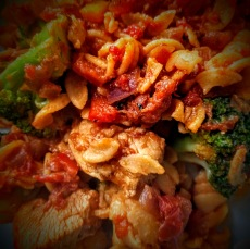 Chicken and Bacon Pasta 4