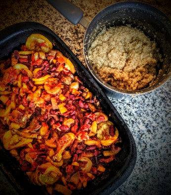 Beautifully Baked Red Kidney Bean Curry