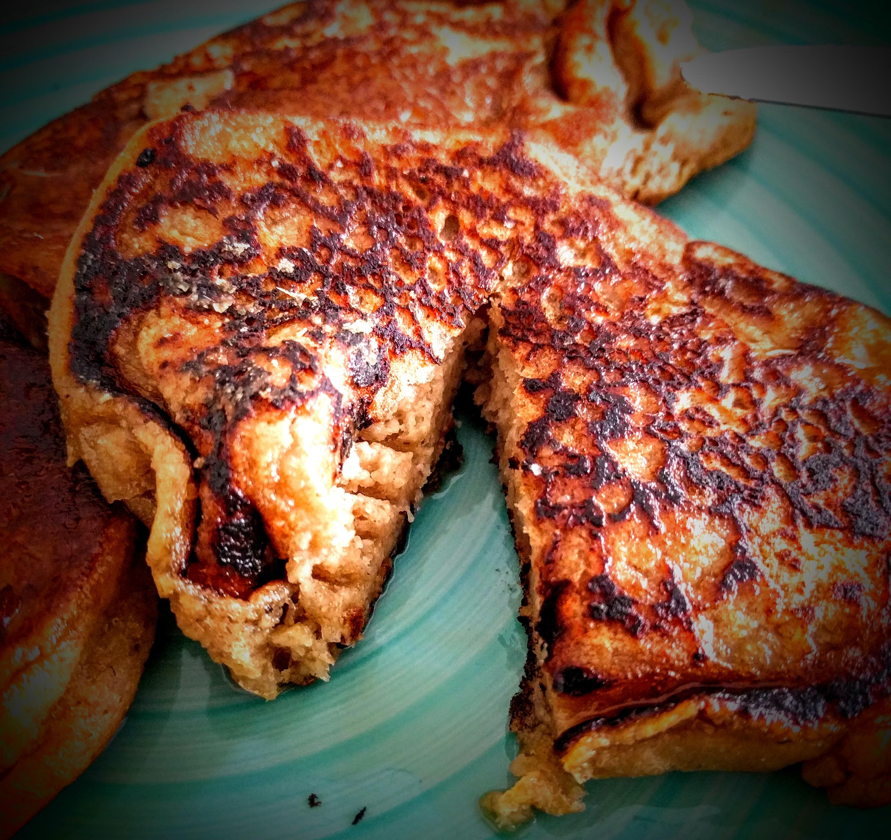 Salted Caramel Pancakes 1