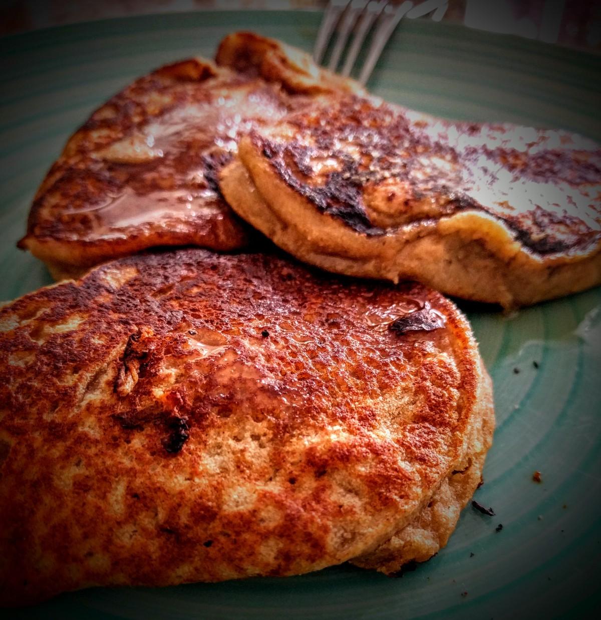 Salted Caramel Pancakes 7