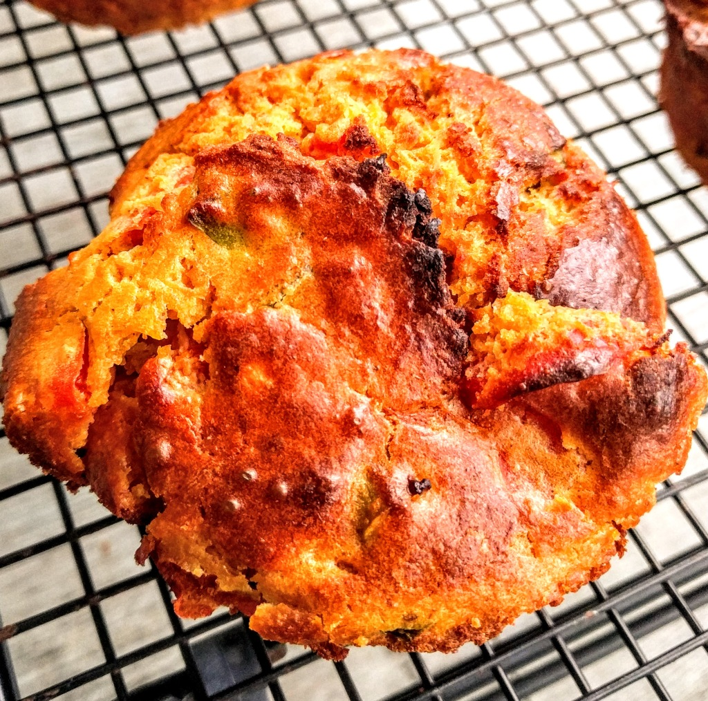 This image has an empty alt attribute; its file name is vegan-red-pepper-sweet-potato-and-chickpea-muffins-6.jpg